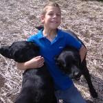 Nina and Pepsi the dogs