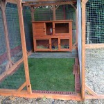 new rabbit enclosure 2013